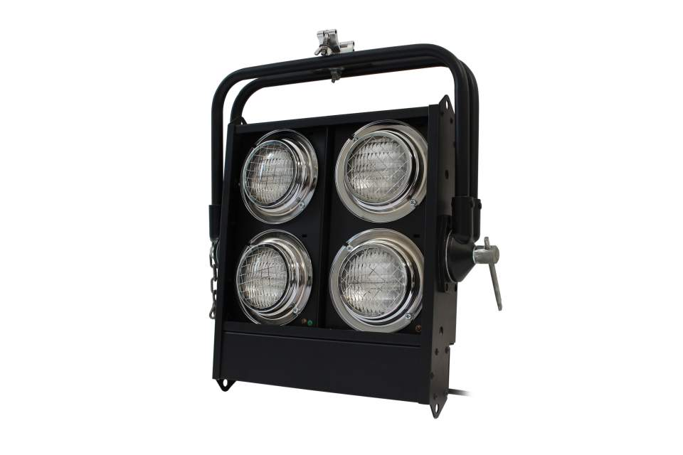 ACCECATORE 4 LAMPADE STAGE BLINDER